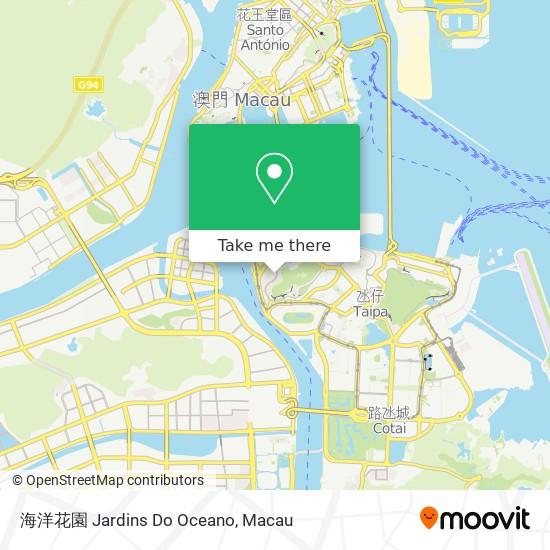 海洋花園 Jardins Do Oceano map