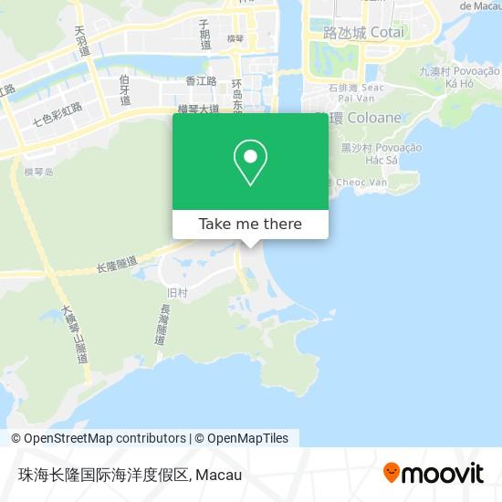 珠海长隆国际海洋度假区 map