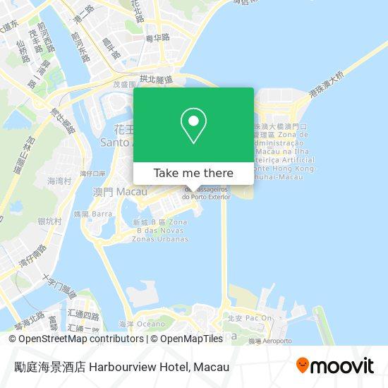 勵庭海景酒店 Harbourview Hotel map