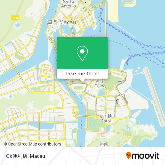 Ok便利店 Circle K map