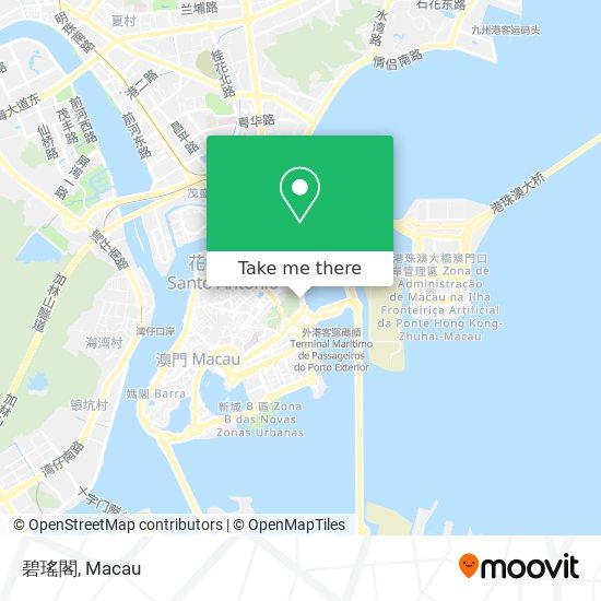 碧瑤閣 map