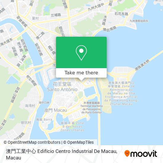 澳門工業中心 Edifício Centro Industrial De Macau map