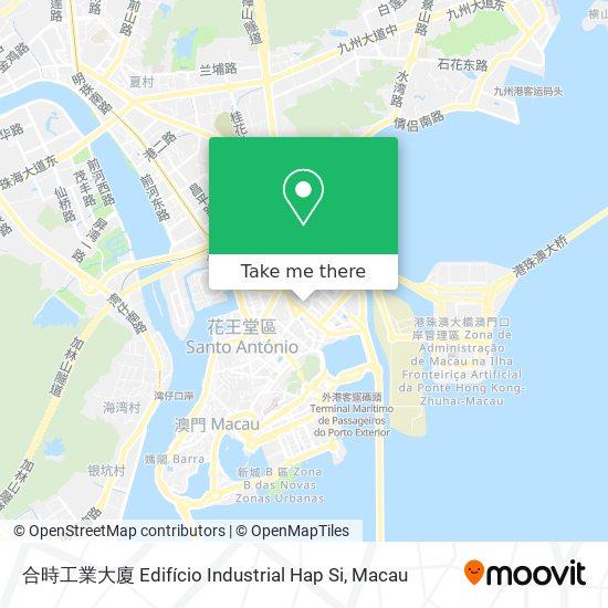 合時工業大廈 Edifício Industrial Hap Si map