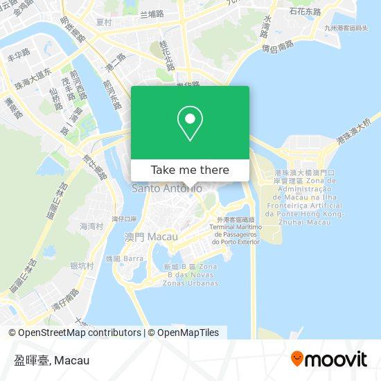 盈暉臺 map