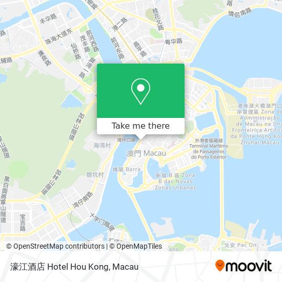 濠江酒店 Hotel Hou Kong map