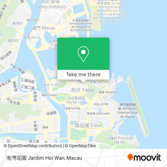 海灣花園 Jardim Hoi Wan map