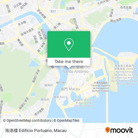 海港樓 Edifício Portuário map