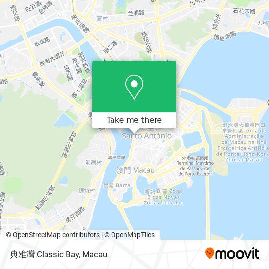 典雅灣 Classic Bay map