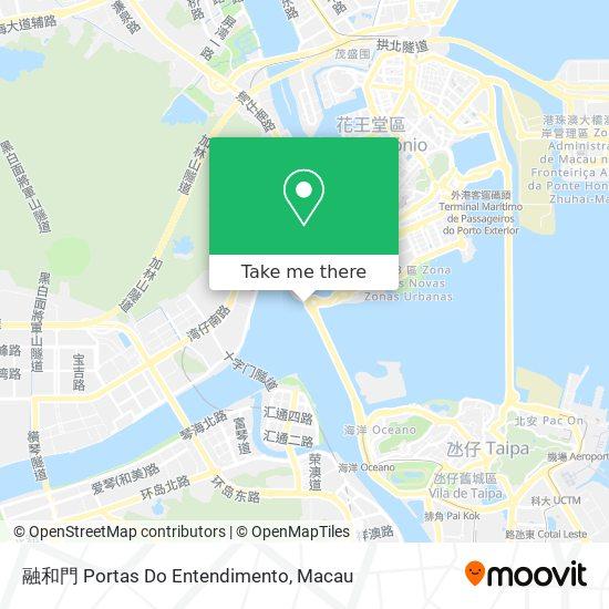 融和門 Portas Do Entendimento map