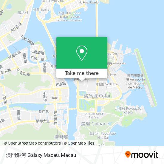 澳門銀河 Galaxy Macau map