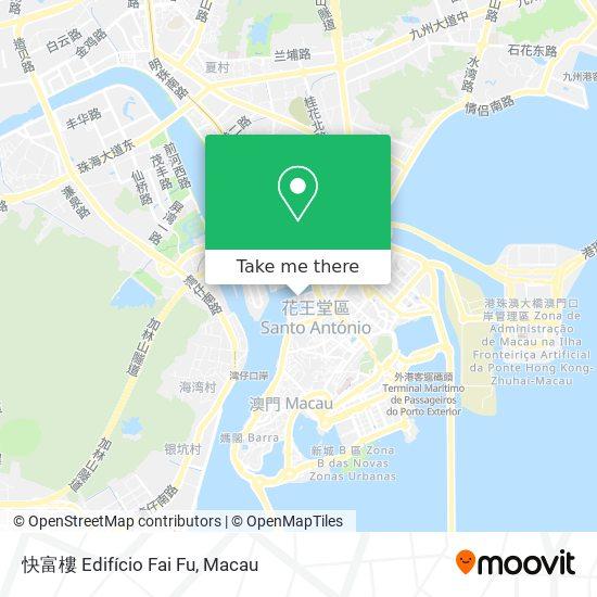 快富樓 Edifício Fai Fu map