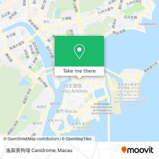 逸園賽狗場 Canidrome map
