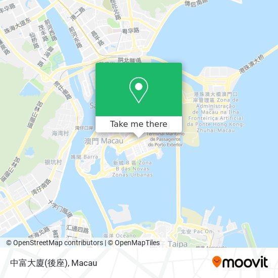 中富大廈(後座) map