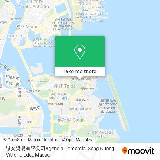 誠光貿易有限公司Agência Comercial Seng Kuong Vittorio Lda. map