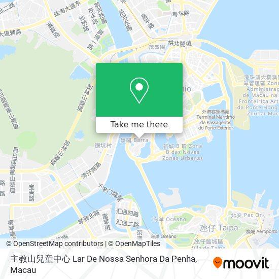 主教山兒童中心 map