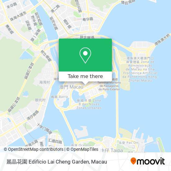 麗晶花園 Edifício Lai Cheng Garden map