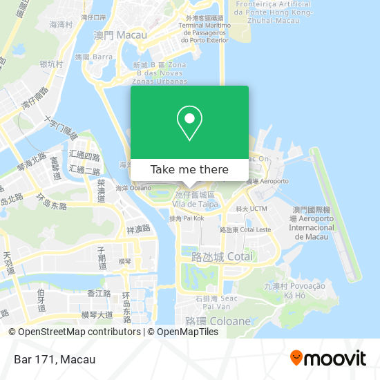 Bar 171 map