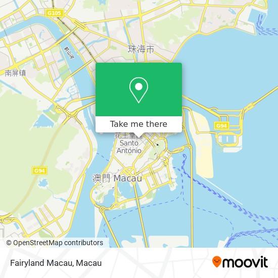 Fairyland Macau map