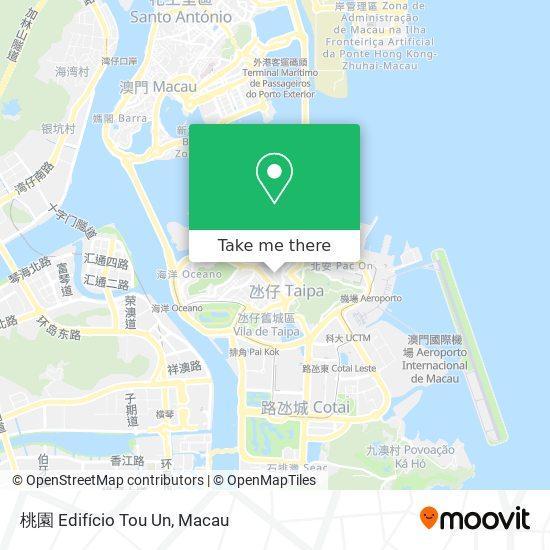 桃園 Edifício Tou Un map