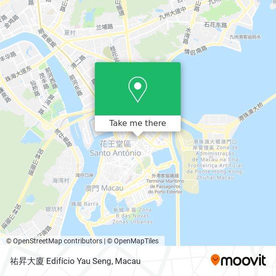 祐昇大廈 Edifício Yau Seng map