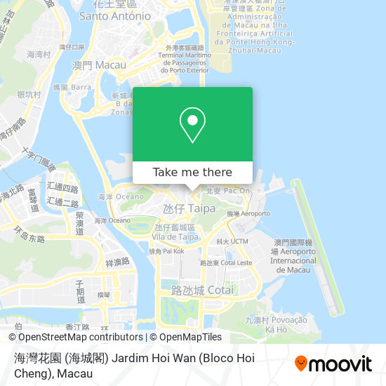 海灣花園 (海城閣) Jardim Hoi Wan (Bloco Hoi Cheng) map
