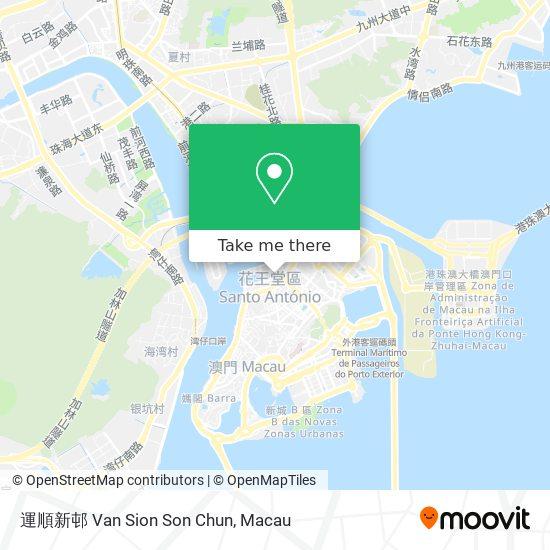運順新邨 Van Sion Son Chun map