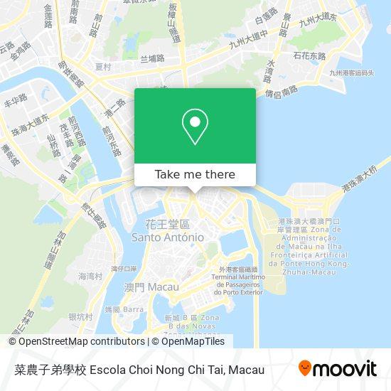 菜農子弟學校 Escola Choi Nong Chi Tai map