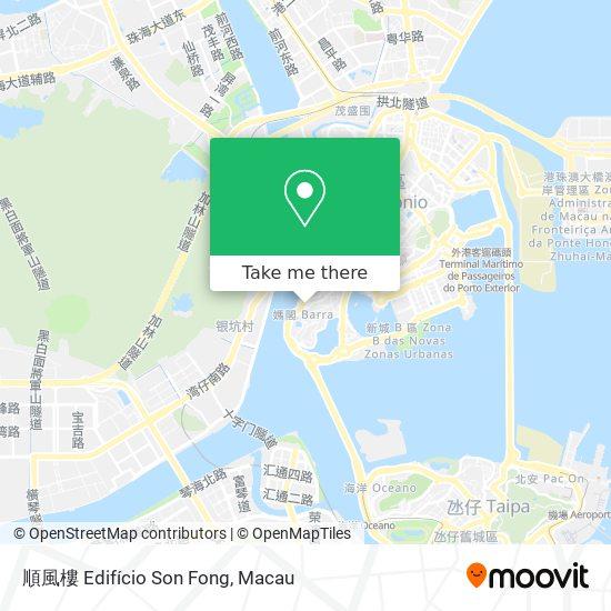 順風樓 Edifício Son Fong map