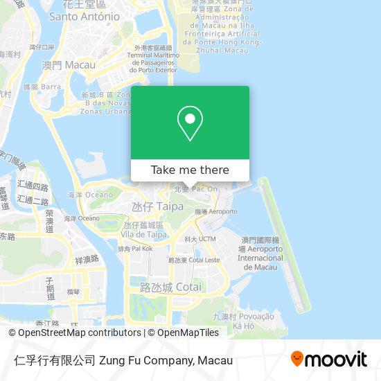 仁孚行有限公司 Zung Fu Company map