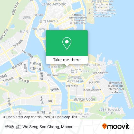 華城山莊 Wa Seng San Chong map