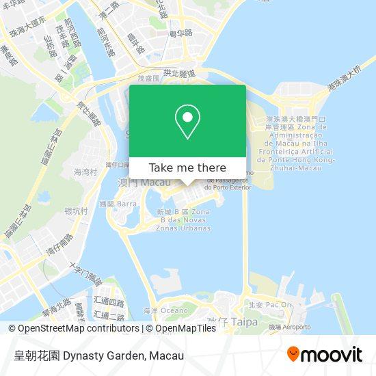 皇朝花園 Dynasty Garden map