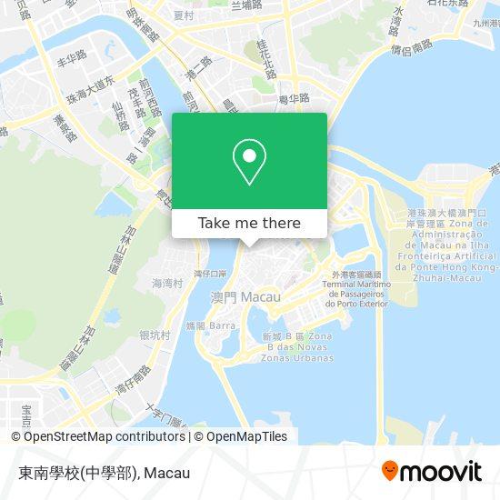 東南學校(中學部) map