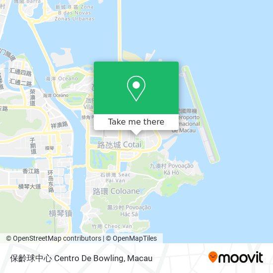 保齡球中心 Centro De Bowling map