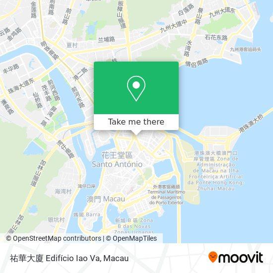 祐華大廈 Edifício Iao Va map