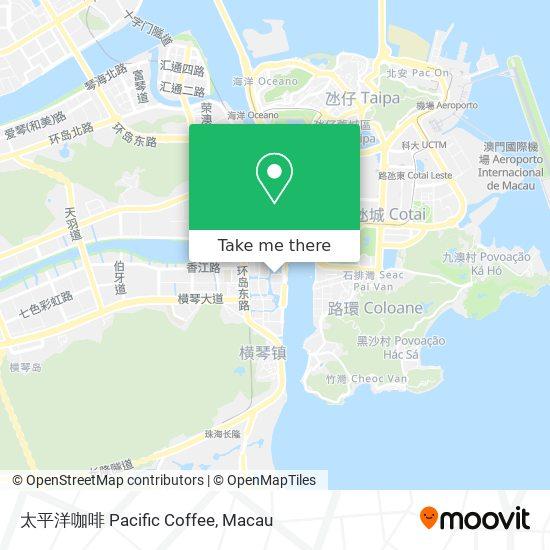 太平洋咖啡 Pacific Coffee map