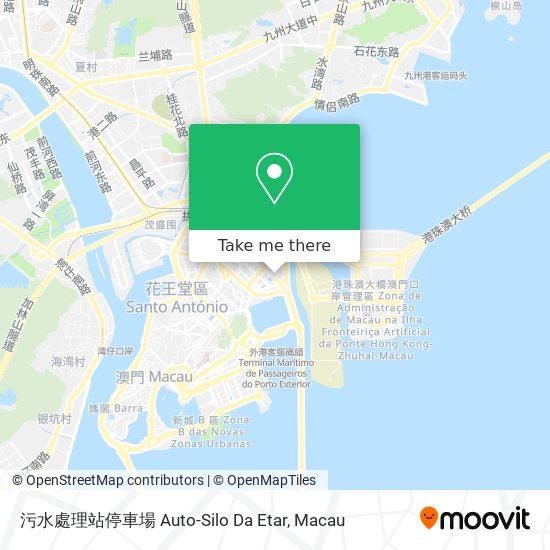 污水處理站停車場 Auto-Silo Da Etar map