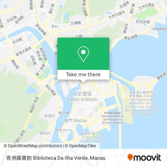 青洲圖書館 map