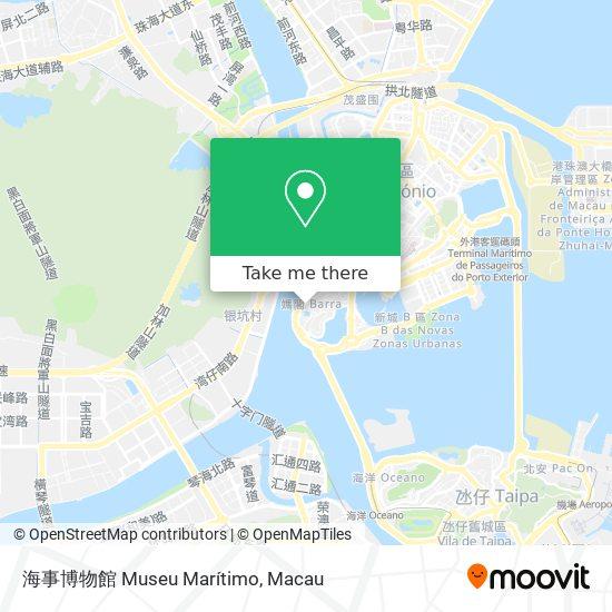 海事博物館 Museu Marítimo map