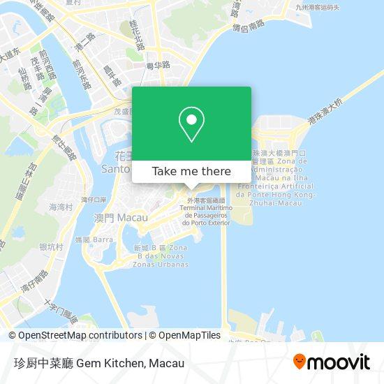 珍厨中菜廳 Gem Kitchen map