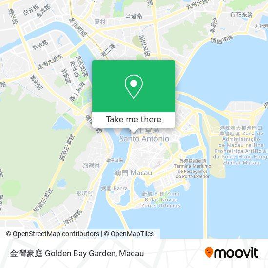 金灣豪庭 Golden Bay Garden map