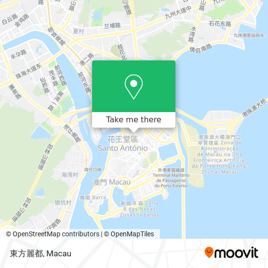 東方麗都 map