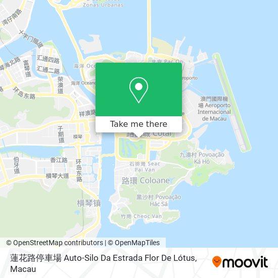蓮花路停車場 Auto-Silo Da Estrada Flor De Lótus map