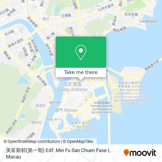 美富新邨(第一期) Edf. Mei Fu San Chuen Fase I map