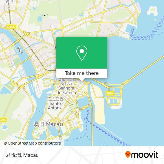 君悅灣 map