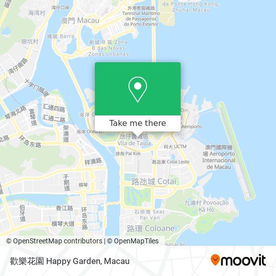 歡樂花園 Happy Garden map