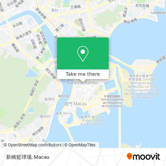 新橋籃球場 map