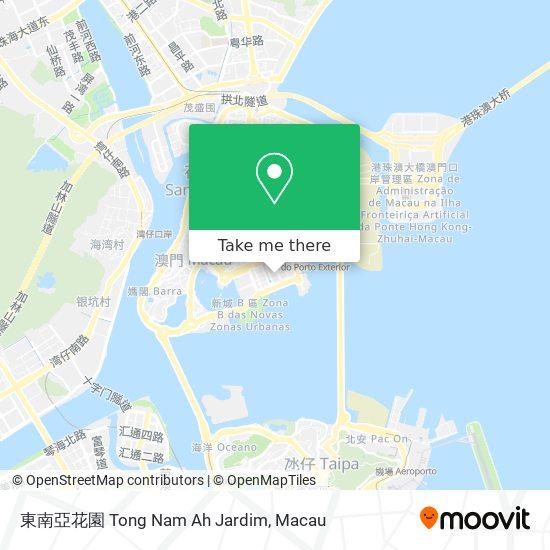 東南亞花園 Tong Nam Ah Jardim map