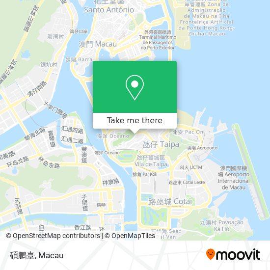碩鵬臺 map