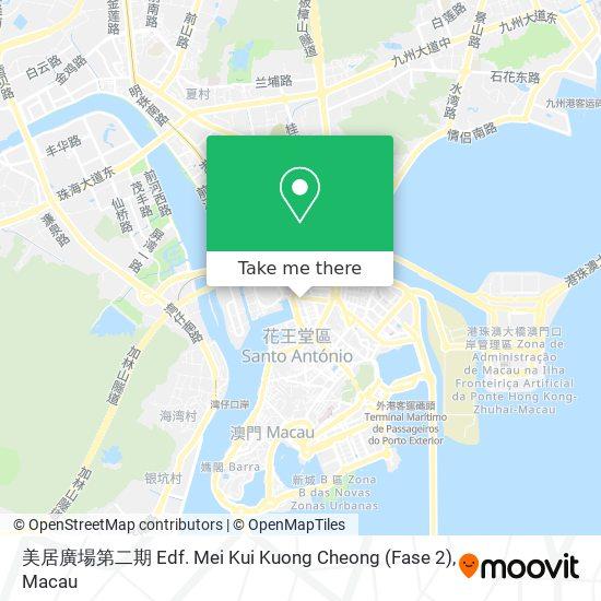 美居廣場第二期 Edf. Mei Kui Kuong Cheong (Fase 2) map