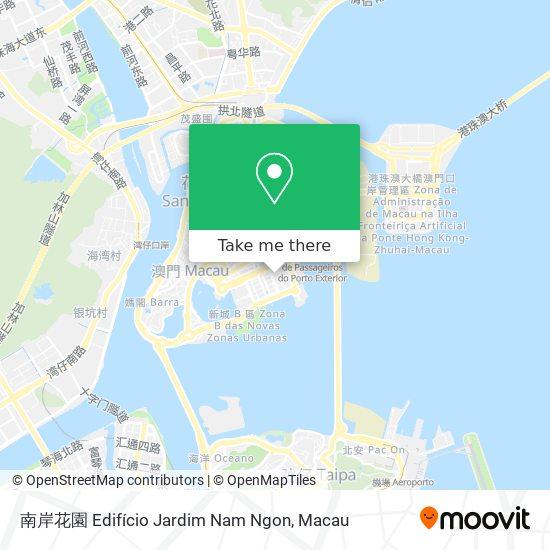 南岸花園 Edifício Jardim Nam Ngon map